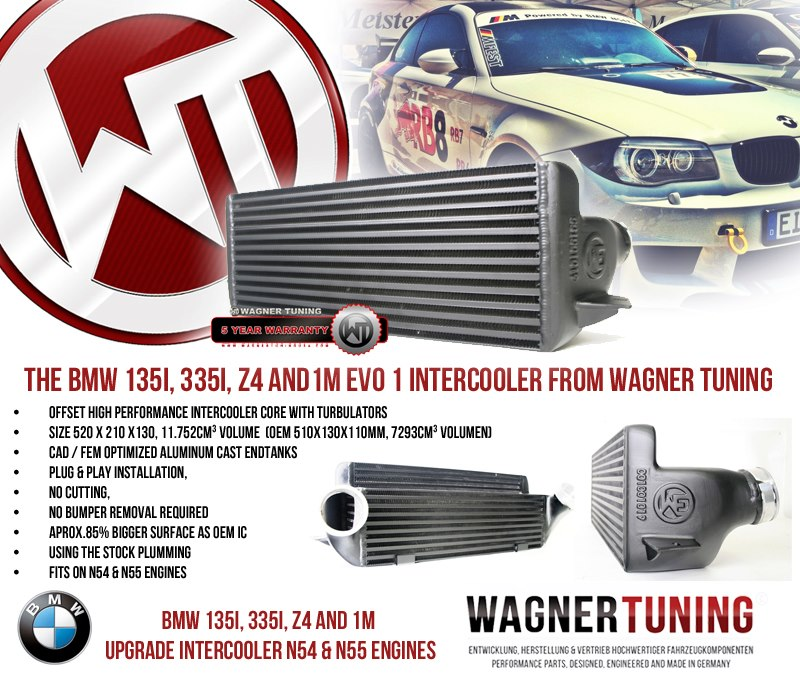 intercooler wagner 135i
