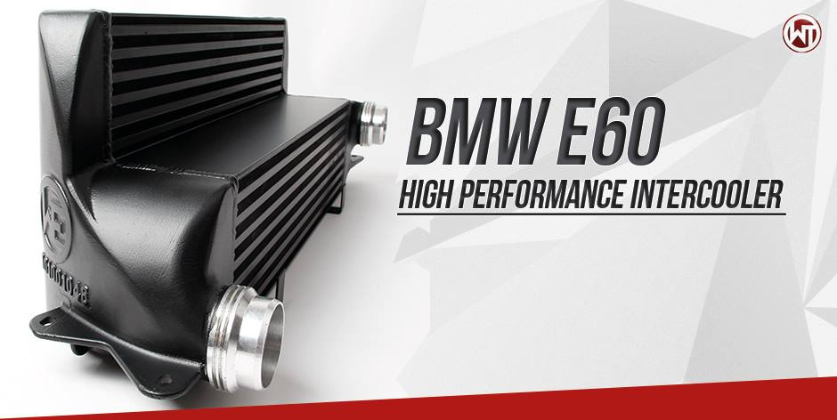 intercooler bmw e60