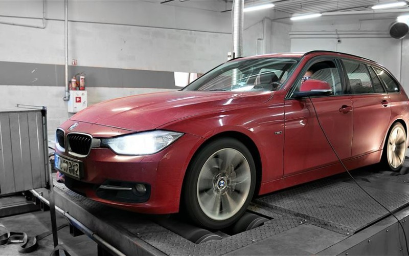 CHIPTUNING BMW F31 335d xDrive – stage 2