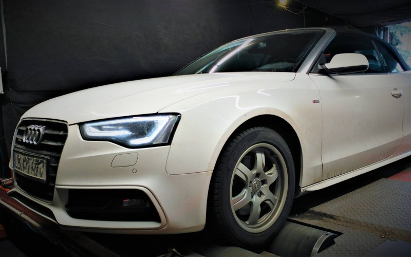 Chiptuning Audi A5 2.0TFSI CNCD 225KM – STAGE 1
