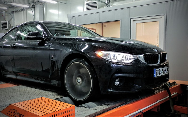 CHIPTUNING BMW F32 435D – STAGE 1+