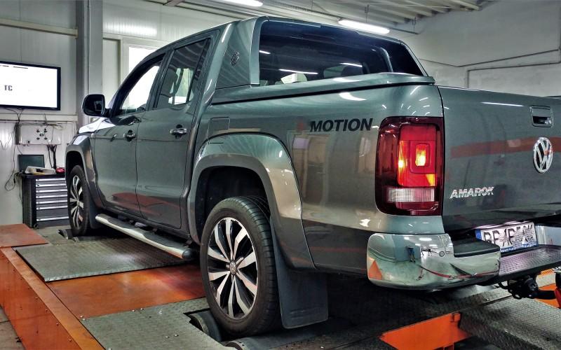 Chiptuning VW AMAROK 3.0TDI DDXC 224KM –  315KM 629Nm