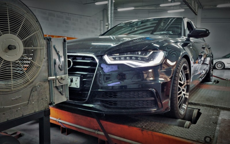 CHIPTUNING Audi A6 C7 3.0TDI 313KM – STAGE 2 – 404KM