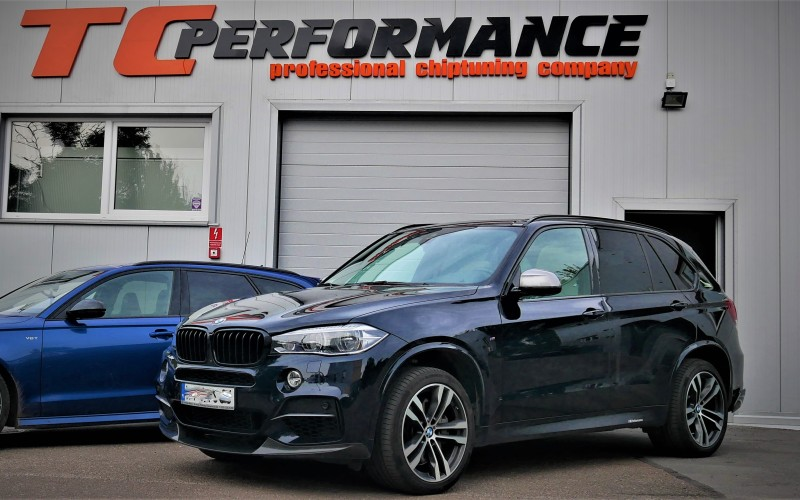 BMW F15 X5 M50D 381KM – STAGE 1 – CHIPTUNING