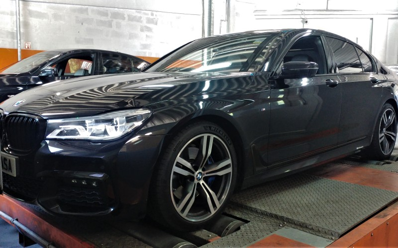 CHIPTUNING BMW G11 730d 265KM – STAGE 1 – G30 530D 265KM – TUNING
