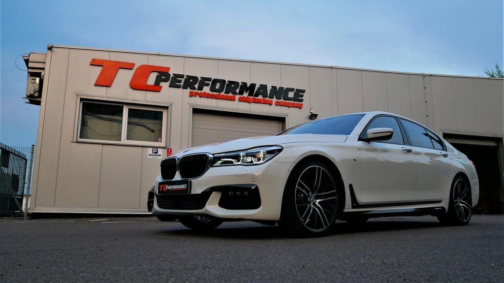 hiptuning BMW G11 750i 450KM Strojenie