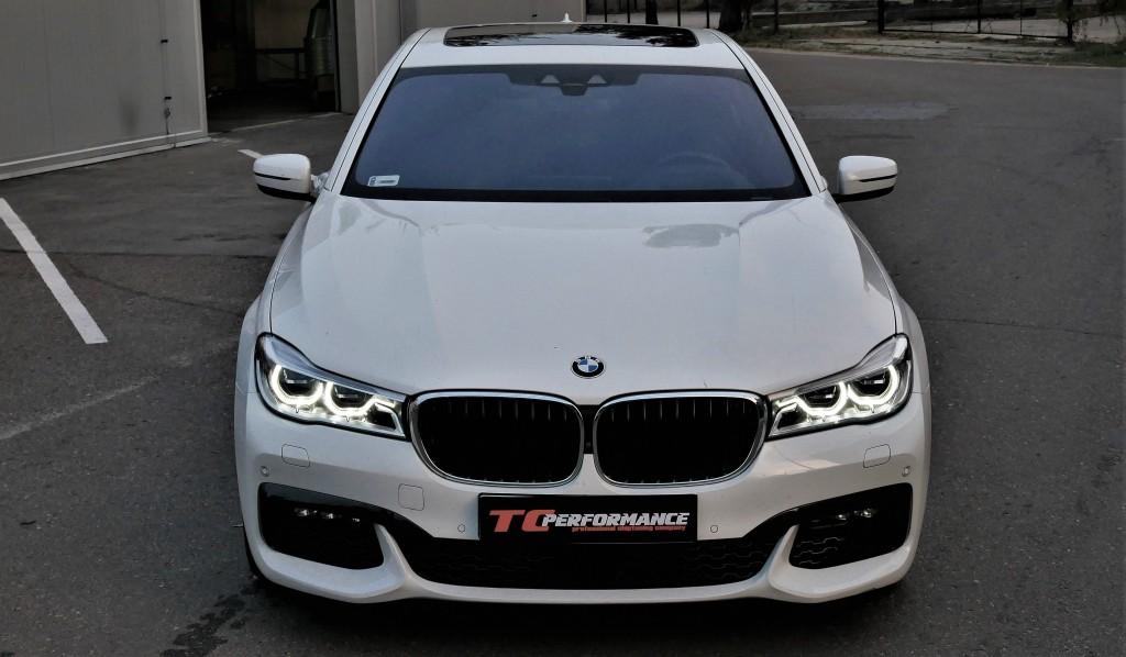 Chiptuning BMW G11 750i 450KM tuning 2