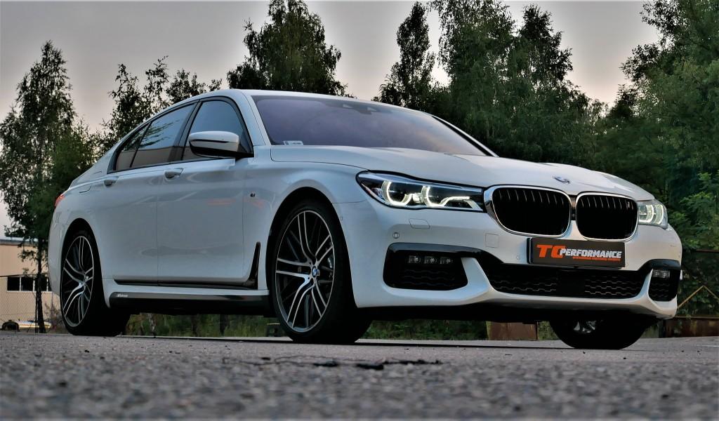 Chiptuning BMW G11 750i 450KM tuning 3