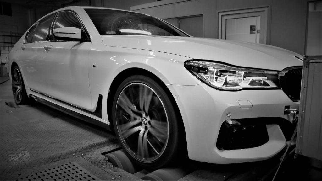 Osiagi Chiptuning BMW G11 750i 450KM