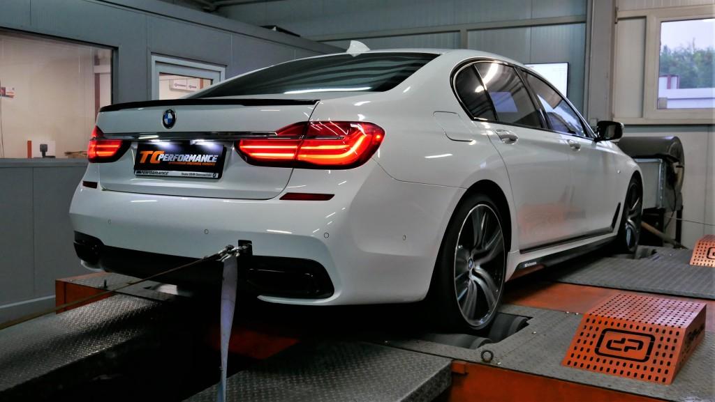 Podniesienie mocy Chiptuning BMW G11 750i 450KM