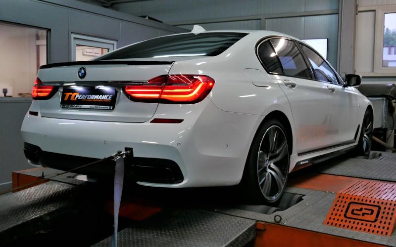CHIPTUNING BMW G11 750i 450KM – STAGE 1 / G30 m550i 462KM – TUNING