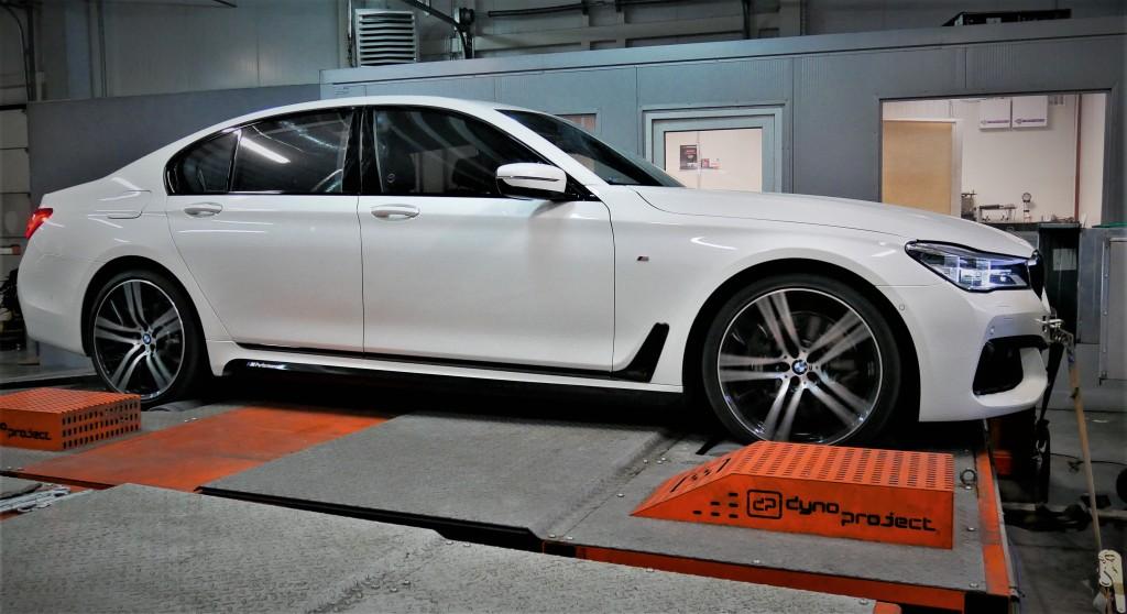Tuning Chiptuning BMW G11 750i 450KM