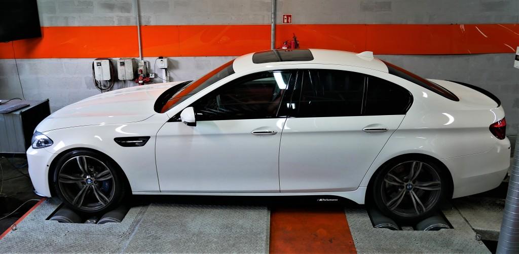 Modyfikacja BMW F10 M5 560KM