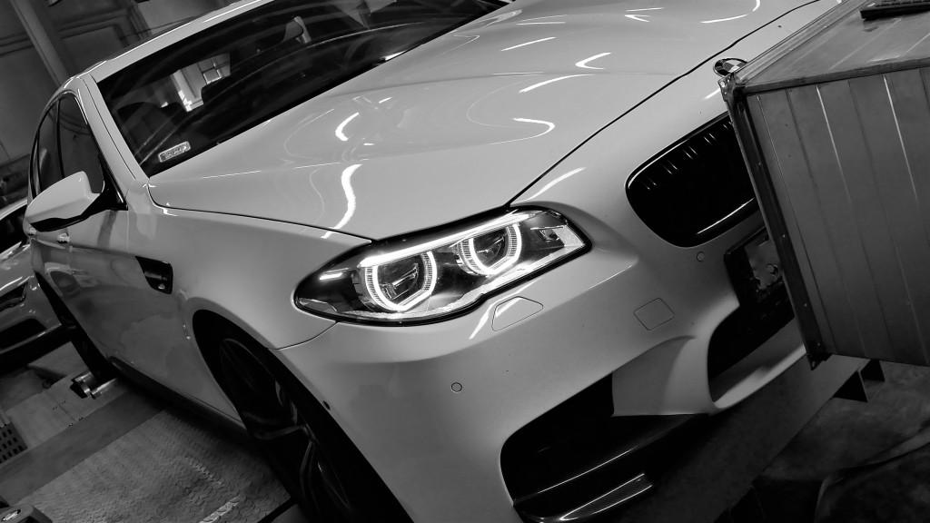 Strojenie BMW F10 M5 560KM