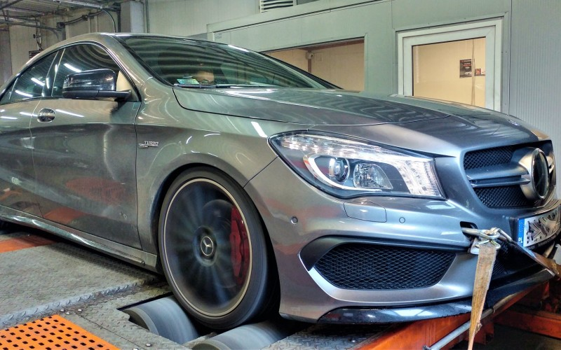 CHIPTUNING MERCEDES CLA45 AMG – STAGE 1
