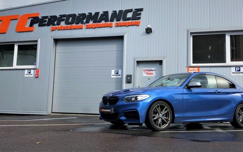 CHIPTUNING BMW M240I F22 340KM – STAGE 1 TUNING