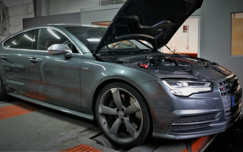 CHIPTUNING AUDI S7 450KM 4.0TFSI – STAGE 1 – TUNING