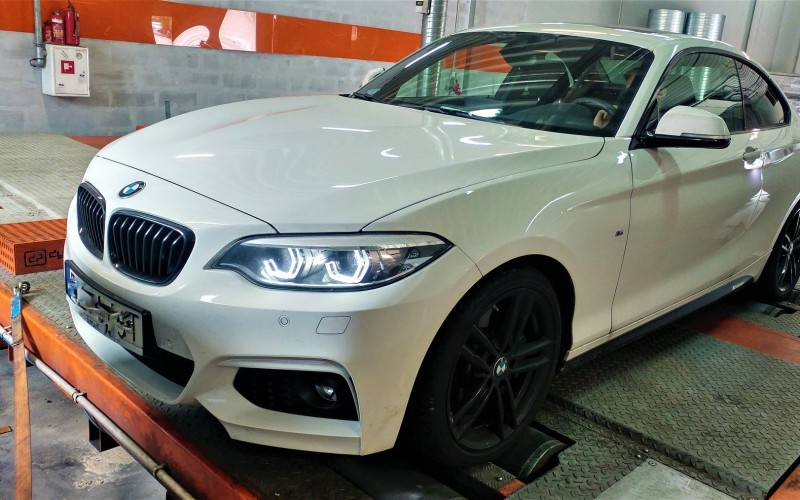 CHIPTUNING BMW 225d F22 231KM – STAGE 1 TUNING