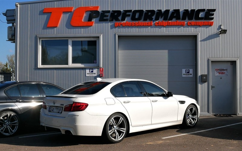 CHIPTUNING BMW M5 F10 560KM – STAGE 1 TUNING