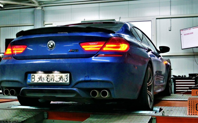 CHIPTUNING BMW M6 F06 / F13 560KM – STAGE 1 TUNING
