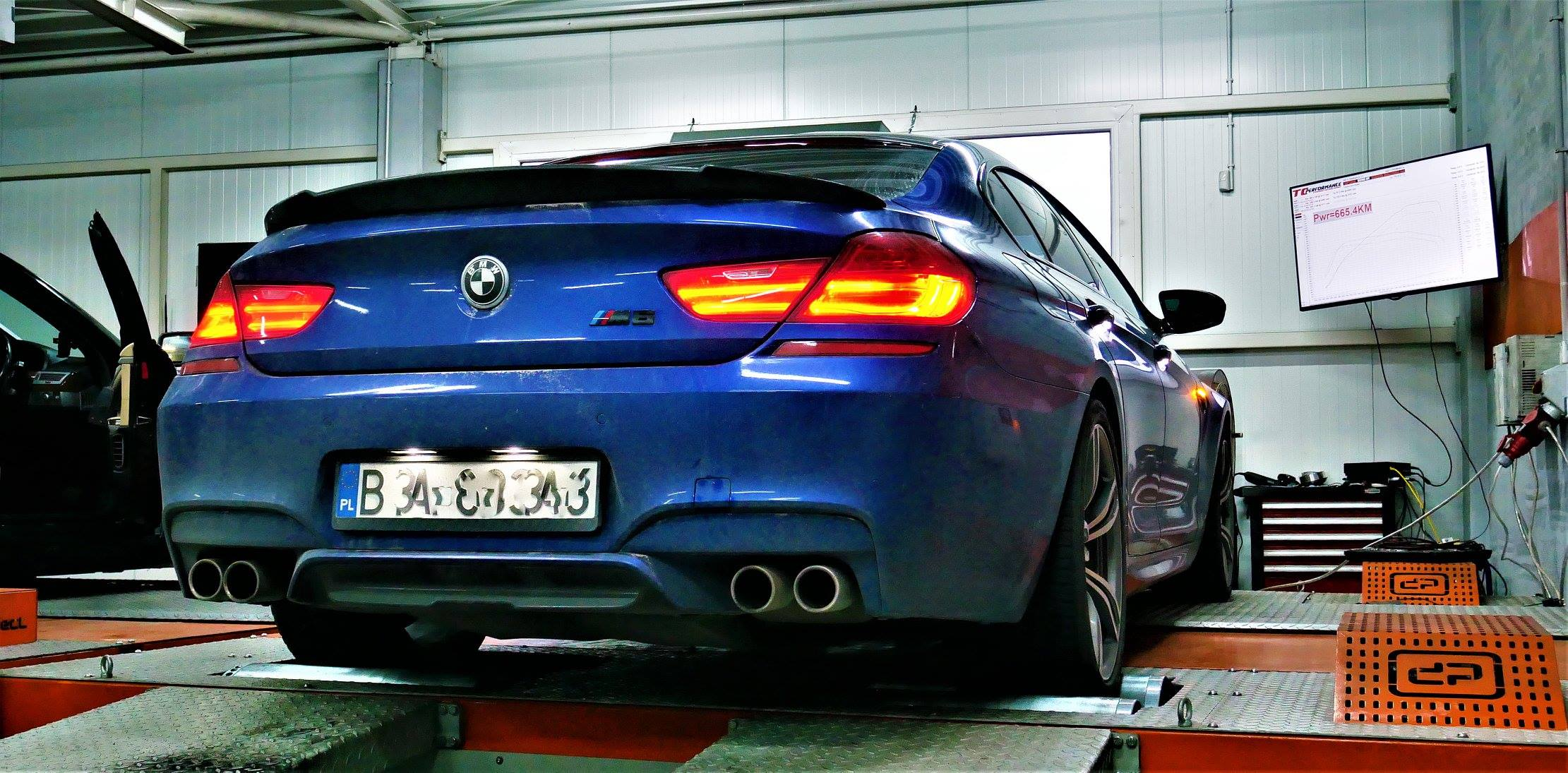 BMW M6 F13 F06 560KM 575KM STAGE1 CHIPTUNING