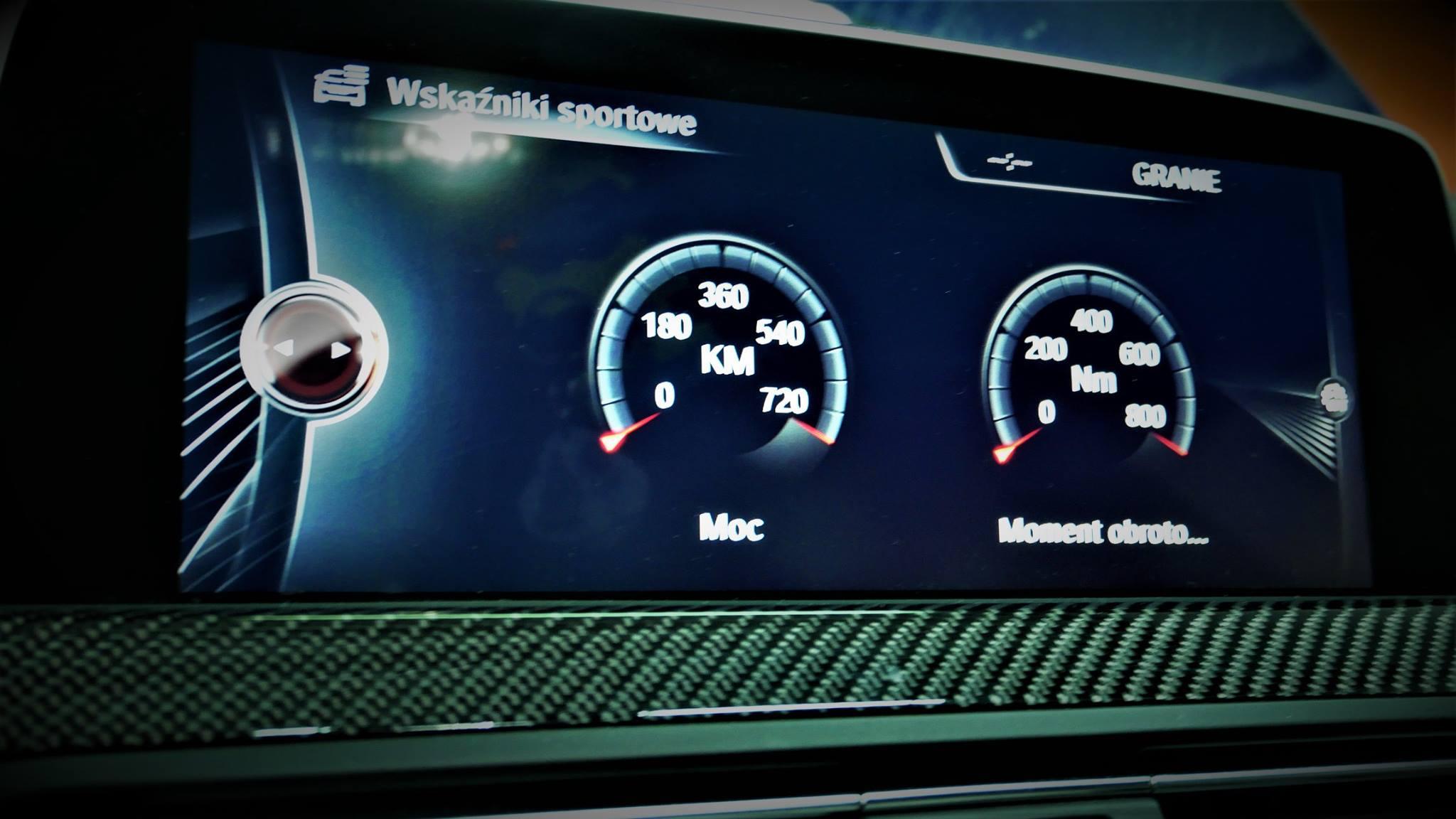 BMW M6 F13 F06 560KM 575KM STAGE1 OSIĄGI