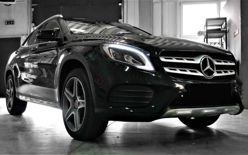 CHIPTUNING MERCEDES GLA 220 – STAGE 1 260KM 460NM