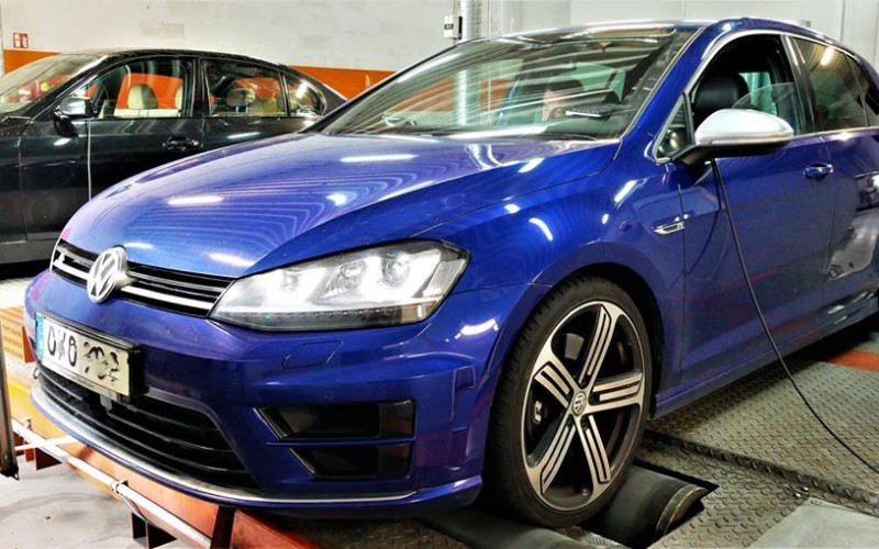CHIPTUNING VW GOLF 7R 300KM – STAGE 1
