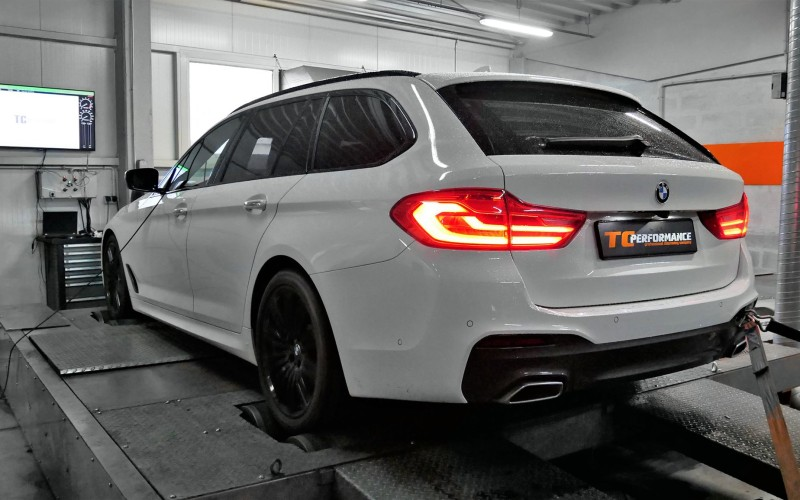 CHIPTUNING BMW G31 520d 190KM – STAGE 1 – TUNING