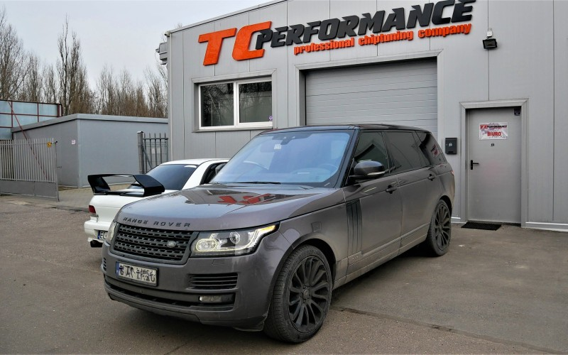 CHIPTUNING RANGE ROVER LONG| 4.4D 339KM – STAGE 1 – 400KM