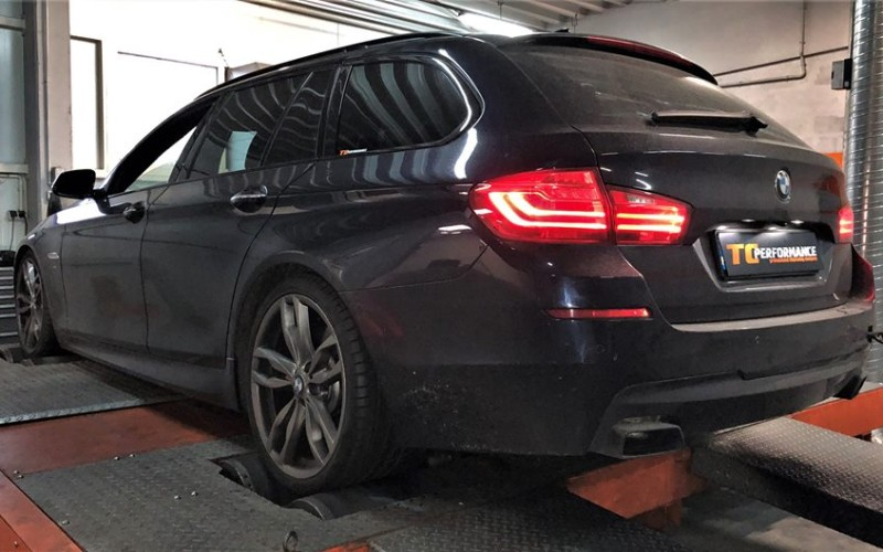 CHIPTUNING BMW F11 M550D 381KM – STAGE 1