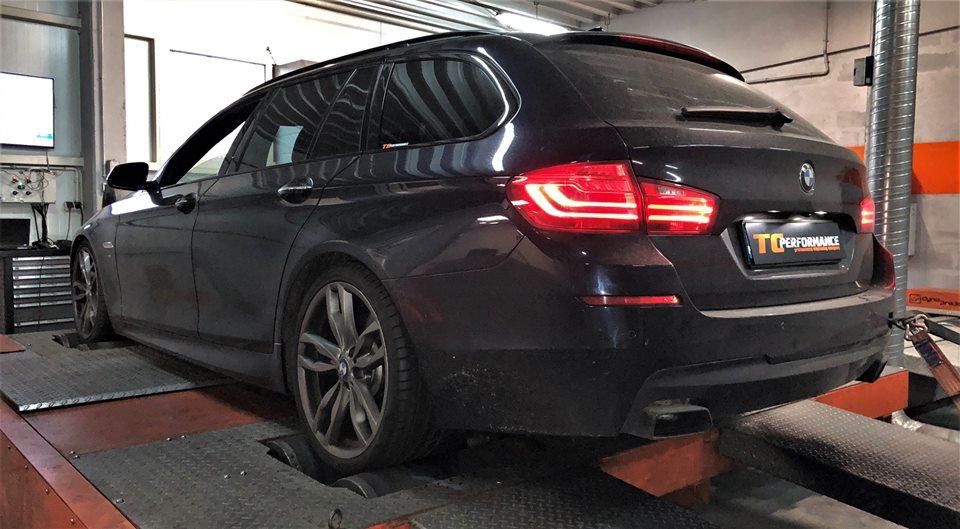 CHIPTUNING BMW F11 M550D 381KM
