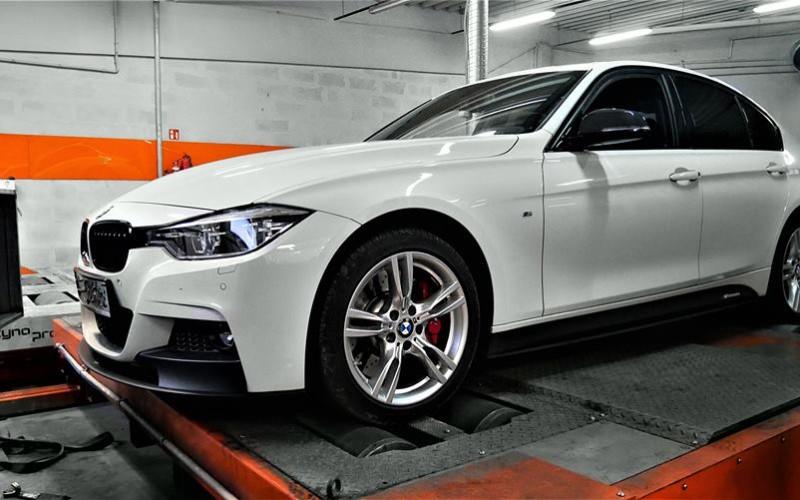CHIPTUNING BMW F30 320D 205KM PPK- STAGE 1