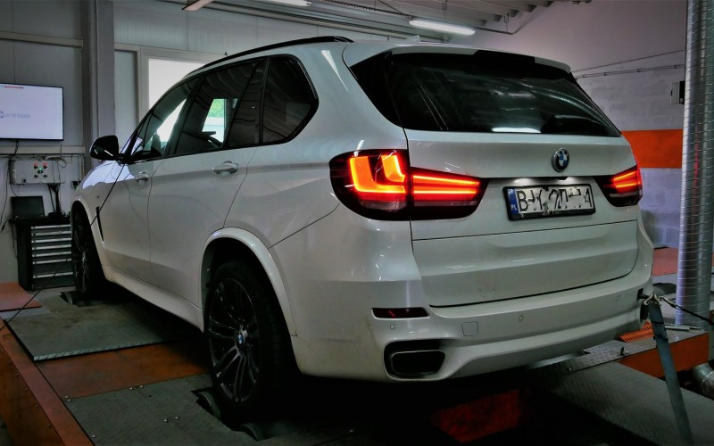 BMW F15 X5 50i 449KM – STAGE 1 – CHIPTUNING