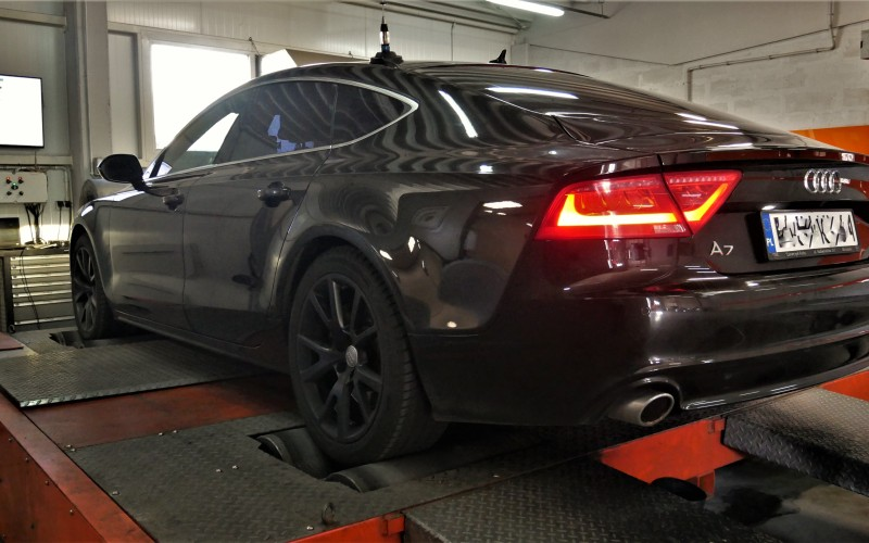 CHIPTUNING AUDI  A7 3.0TDI 245KM – Stage 1