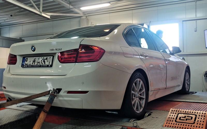 CHIPTUNING BMW F30 320i 184KM – STAGE 1