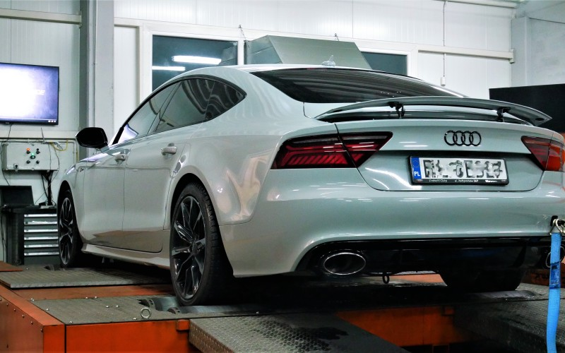 CHIPTUNING AUDI  A7 3.0TFSI 310KM – STAGE 2