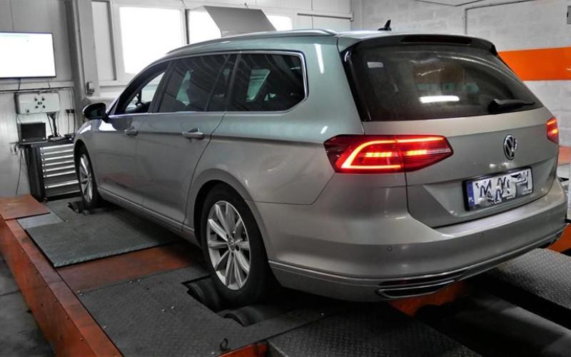 CHIPTUNING VW PASSAT B8 2.0 BITDI 240KM DSG – STAGE 1