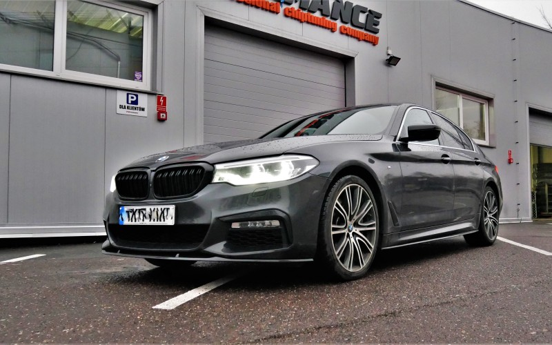 CHIPTUNING BMW G30 540i 340KM – STAGE 1+