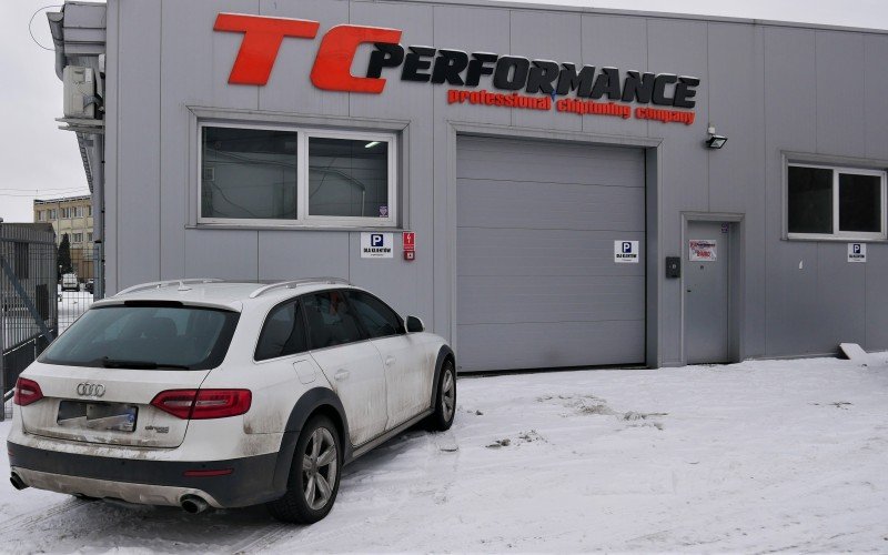 CHIPTUNING AUDI A4 ALLROAD 2.0TFSI 211KM – STAGE 1