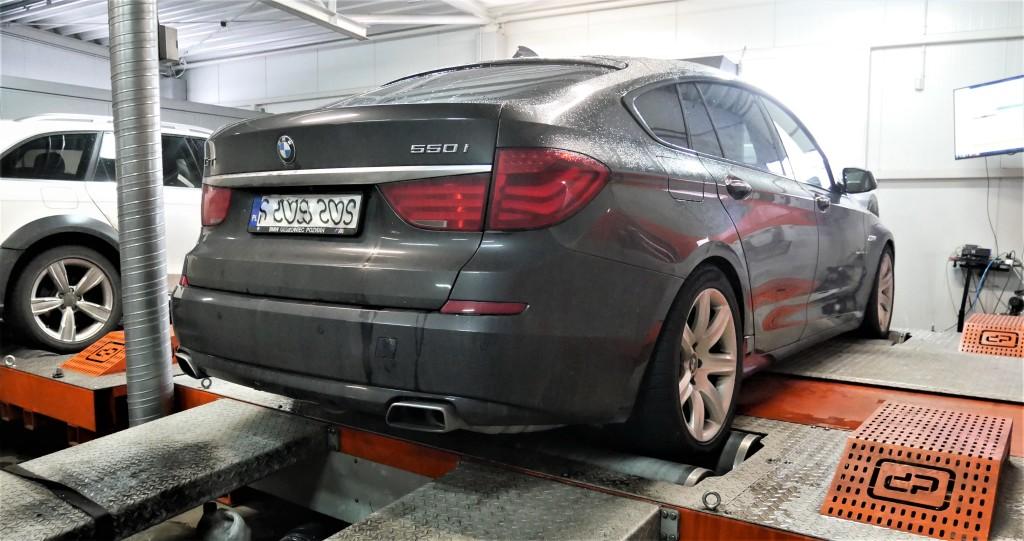 CHIPTUNING BMW F07 550I GT
