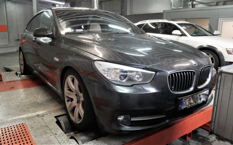 CHIPTUNING BMW F07 550i 407KM – STAGE 1