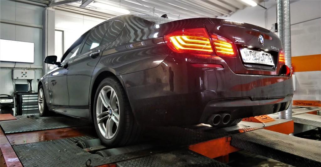 CHIPTUNING BMW F10 520D