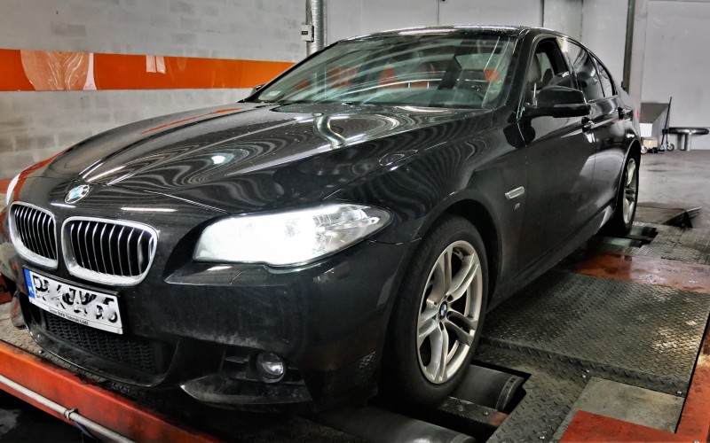 CHIPTUNING BMW f10 520d 190KM xDrive – stage 1