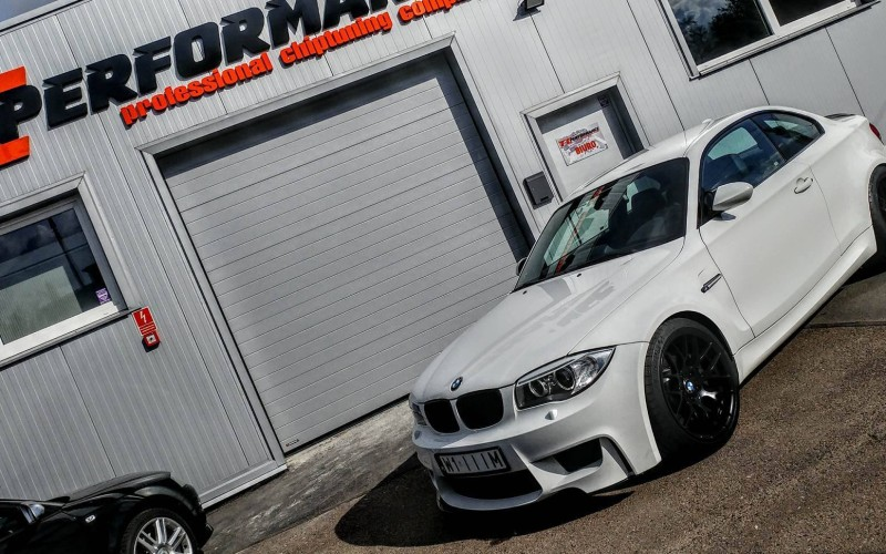 CHIPTUNING BMW 1M E87 340KM – STAGE 2
