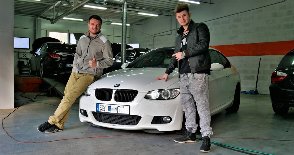 CHIPTUNING BMW E92 335I