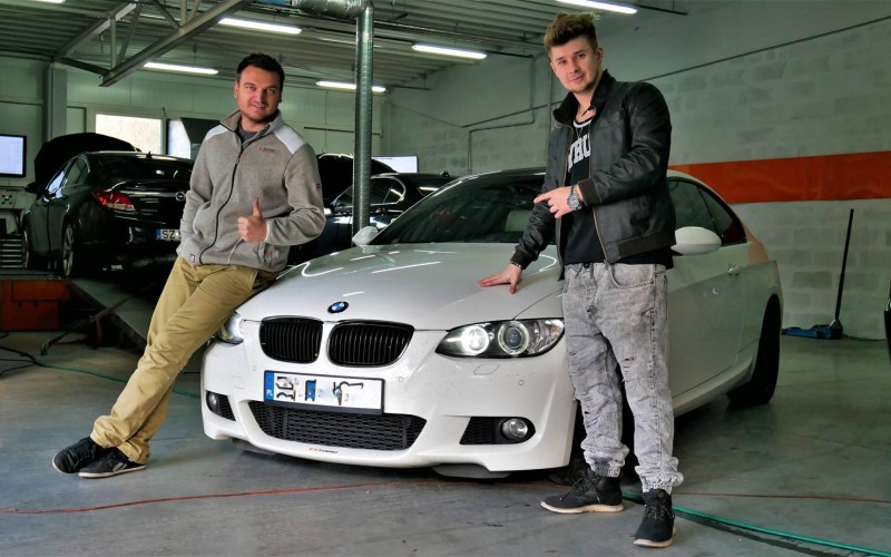 CHIPTUNING BMW E92 335i xDrive 306KM – stage 3