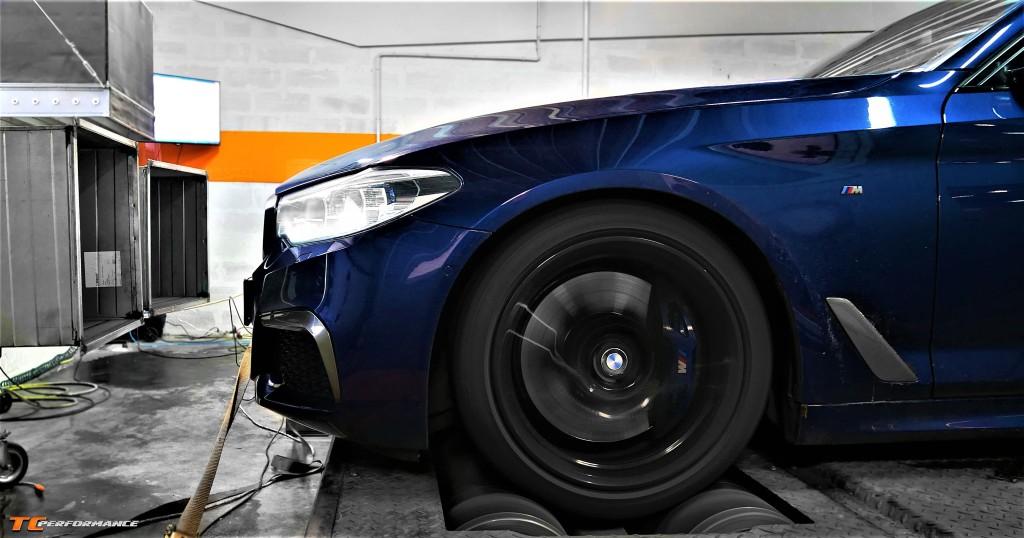 CHIPTUNING BMW G30 M550i HAMOWNIA