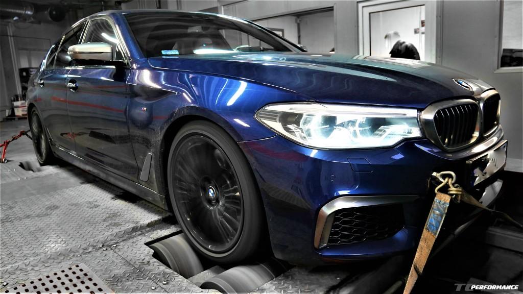 CHIPTUNING BMW G30 M550i HAMOWNIA 3.