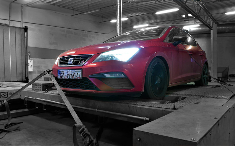 CHIPTUNING SEAT LEON 1.8TSI 180KM – STAGE 1